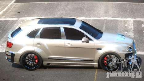 Bentley Bentayga для GTA 4
