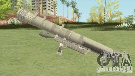 Heat-Seeking Rocket Launcher (HD) для GTA San Andreas