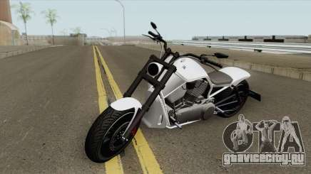 Western Motorcycle Nightblade (Stock) GTA V для GTA San Andreas