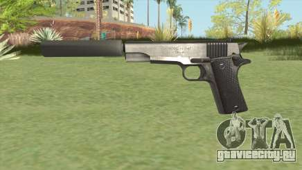 Silenced Pistol (HD) для GTA San Andreas