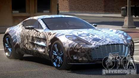 Aston Martin One-77 LS PJ1 для GTA 4