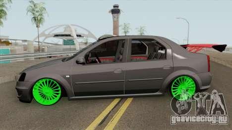 Dacia Logan (Drift) для GTA San Andreas