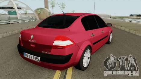 Renault Megane (Sedan) для GTA San Andreas