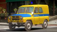 UAZ 469 Police для GTA 4