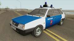 ВАЗ 2109 (Милиция Москвы) для GTA San Andreas