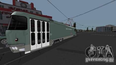 Трамвай Tatra T3SU Поливальный для GTA San Andreas