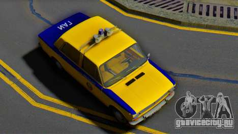 ВАЗ-2101 Советская милиция для GTA San Andreas