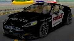 Aston Martin Vanquish Police Version (IVF) для GTA San Andreas