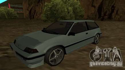 Honda Civic Hatchback 3 Gen (SA Style) для GTA San Andreas