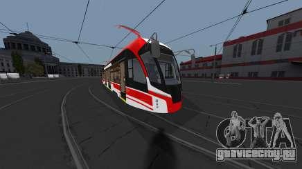 Трамвай 71-911ЕМ Львёнок для GTA San Andreas