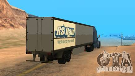 Trailer for Peterbilt 579 Sleeper (SA Style) для GTA San Andreas