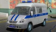 ГАЗ 2217 Соболь Милиция Дежурная Часть для GTA San Andreas