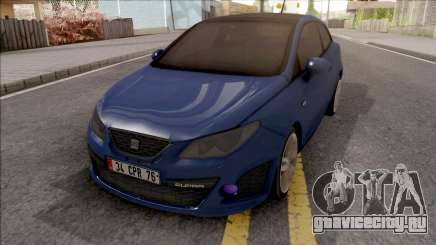 Seat Ibiza Cupra 2010 IVF для GTA San Andreas