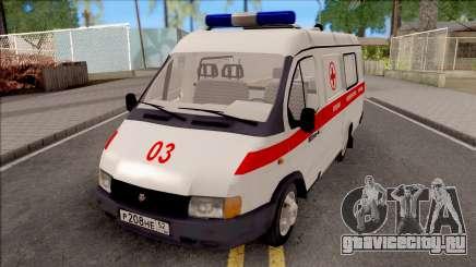 ГАЗель 32214 Скорая Помощь для GTA San Andreas
