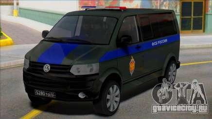 Volkswagen Transporter T5 ФСБ России для GTA San Andreas
