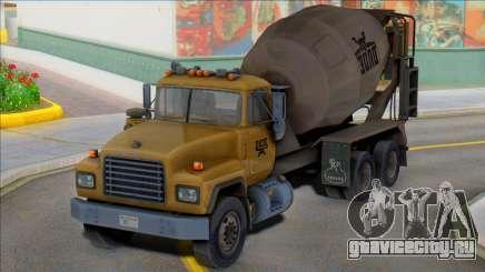 1992 Mack RD690 Cement Mixer Truck IVF для GTA San Andreas