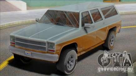 1976 Chevrolet Suburban (Rancher XL style) для GTA San Andreas