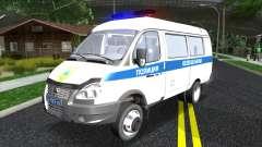Газель Бизнес Полиция Казахстана для GTA San Andreas