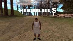 Плюс 100.000.000 долларов и очистка розыска для GTA San Andreas