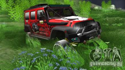 Jeep Wrangler Rubicon Caterpillar для GTA San Andreas