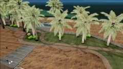 Realistic Beach in Los Santos 4K для GTA San Andreas