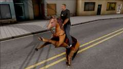 The Legendary Horse Mod для GTA San Andreas