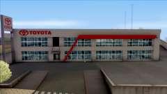 Toyota San Fierro Dealer Store для GTA San Andreas