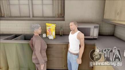 Mother of CJ at Home для GTA San Andreas