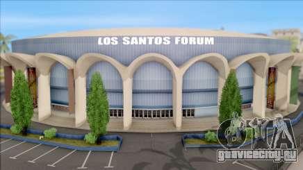 Mesh Smoothed Los Santos Forum для GTA San Andreas