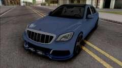 Mercedes-Maybach S650 Brabus Rocket 900 Blue для GTA San Andreas