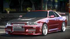 Nissan Skyline R34 H-Tuned для GTA 4