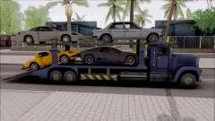 Attach Vehicles to Packer для GTA San Andreas