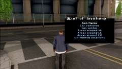 Teleportation Mod для GTA San Andreas