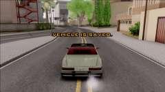 UngSaveCar v1 для GTA San Andreas