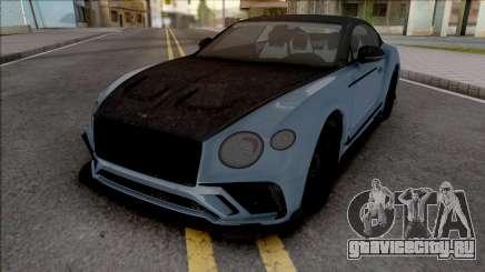 Bentley Continental GT Mansory HQ для GTA San Andreas