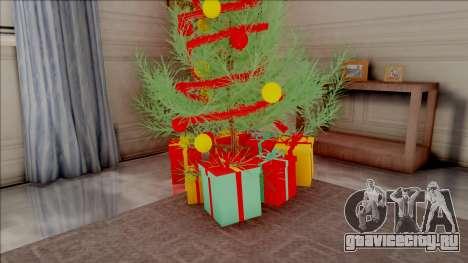 Christmas Tree in El Corona House для GTA San Andreas