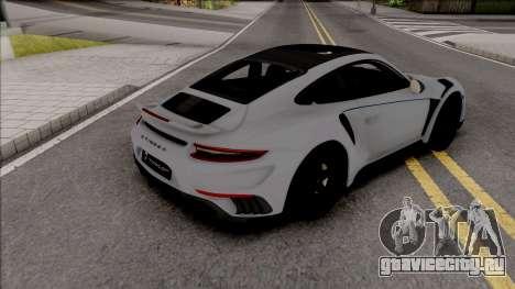 Porsche 911 Stinger GTR 2017 TopCar для GTA San Andreas