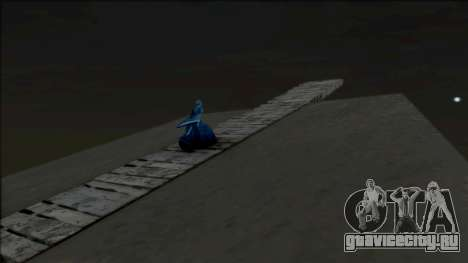 The Ghost Woman on a Rock для GTA San Andreas