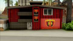 FC Vardar House для GTA San Andreas