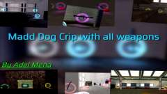 All Weapons in Madd Dogg Crib для GTA San Andreas