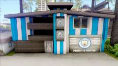 Manchester City House of Fans для GTA San Andreas