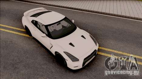 Nissan GTR R35 2015 (SA Lights) для GTA San Andreas