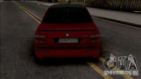BMW M5 E39 Stanced Red для GTA San Andreas