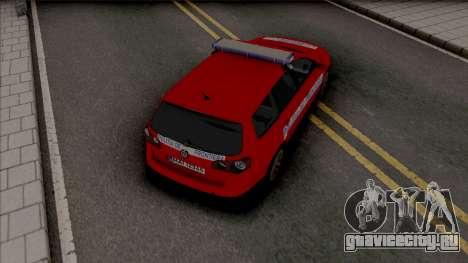 Volkswagen Passat Politia De Frontiera для GTA San Andreas