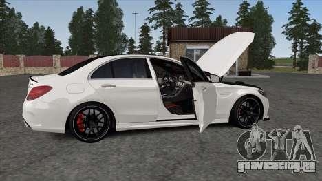 Mercedes-Benz C63s W205 для GTA San Andreas