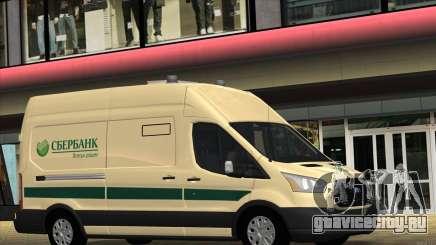 Ford Transit Инкассация для GTA San Andreas