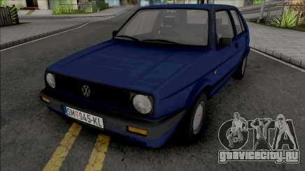 Volkswagen Golf Mk2 1990 [5 Door] для GTA San Andreas