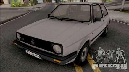 Volkswagen Golf MK2 TAS JX [2 Door] для GTA San Andreas