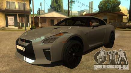 Nissan GT-R R35 SA для GTA San Andreas