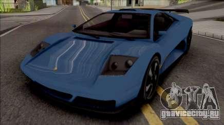 GTA V Pegassi Infernus Restructured [IVF] для GTA San Andreas